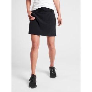 Athleta Soho Skort Mid Rise Skirt Pockets Solid